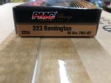 PMC Bronze .223 Rem 55 gr FMJ 1000 Round Case - 3 of 5