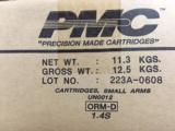 PMC Bronze .223 Rem 55 gr FMJ 1000 Round Case