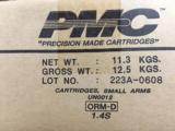 PMC Bronze .223 Rem 55 gr FMJ 1000 Round Case - 1 of 5