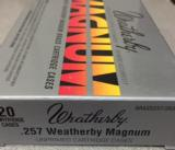Weatherby Factory New 257 Weatherby Magnum Brass Cases - 2 of 4