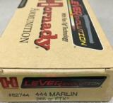Hornady Lever Evolution 444 Marlin 265 gr FTX - 4 of 4