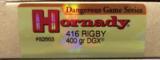 Hornady Dangerous Game Series 416 RIGBY 400 gr DGX - 1 of 4