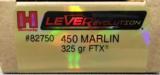 Hornady Lever Evolution 450 Marlin 325 gr FTX - 1 of 4