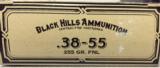 Black Hills 38-55 255gr FNL