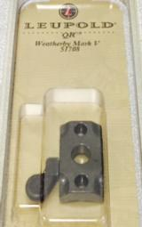 Leupold QR Weatherby Mark V 2-Piece Scope Bases Gloss Black #51708 - 3 of 3