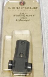 Leupold Standard Scope Bases Weatherby Mark V Leightweight - 3 of 3