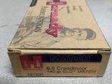 Hornady 6.5 Creedmoor 140gr ELD Match Ammunition- 1 of 3