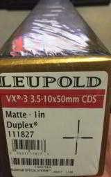 Leupold VX-3 3.5-10x50mm CDS 1