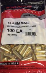 Winchester 44 Rem Mag Unprimed Brass