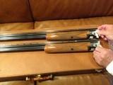 Browning Belgian superposed 410 and 28ga 2 barrel set - 3 of 4