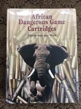 African Dangerous Game Cartridges, Pierre van der Walt