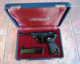 WALTHER P-38 P38 ENGRAVED in CASE