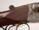 Sauer 12ga SxS Shotgun. Relief Engraving. Ejectors. C&R - 4 of 10
