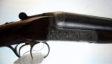 Sauer 12ga SxS Shotgun. Relief Engraving. Ejectors. C&R - 2 of 10