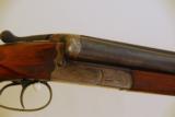 Sauer 12ga SxS Shotgun.- 5 of 6