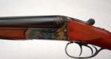 Simson 12ga SxS Shotgun. Merkel type frame