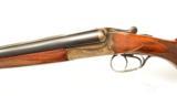 Simson 12ga SxS Shotgun. Merkel type action.