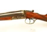 Sauer 12ga SxS Shotgun. Ejector Gun. English Straight Stock