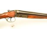 Sauer 12ga SxS Shotgun. Ejector Gun. English Straight Stock - 2 of 6