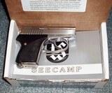SEECAMPMODEL LWS 380 & .32 cal.