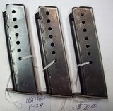 Walther & Mauser P-38 mags. - 1 of 3