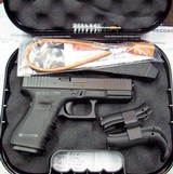 Glock 19 Gen 4 with Night Sights and Front serrations.