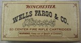 Wells Fargo & Co. Commemorative Ammo - 1 of 2