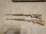 Ruger 10/22 American Farmer 3113322lr rifle consecutive serial number lot of 2 - 11 of 11