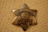 Reproduction Chicago Police Badge