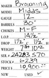 Browning Midas 12 Gauge - 5 of 5