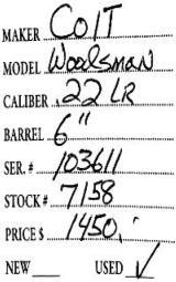 Colt Woodsman .22 LR - 7 of 7
