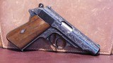 Walther PP .380 ACP (Fully Engraved Pre-War with no Import Marks Mfg. 1937)