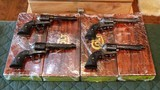 Colt SAA 45 LC (Set of Four A,B,C,D Engraved)