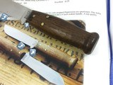 Rare 1929-42 Marbles Outdoor Knife Walnut Rimmed Butt SAME ONE PICTURED IN ENCYCLOPEDIA OF MARBLES - 9 of 9