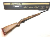 Rare Fabrique Nationale Herstal Safari .458 Win Mag Belgium FN Browning