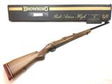 Rare Fabrique Nationale Herstal Safari .458 Win Mag Belgium FN Browning+ Box PRISTINE!