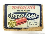 Rare Winchester Repeater Speed Loads 16 ga 2 Piece Box Vintage - 7 of 8