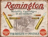 4 Tin Signs - Remington Colt Winchester We the People - 5 of 7