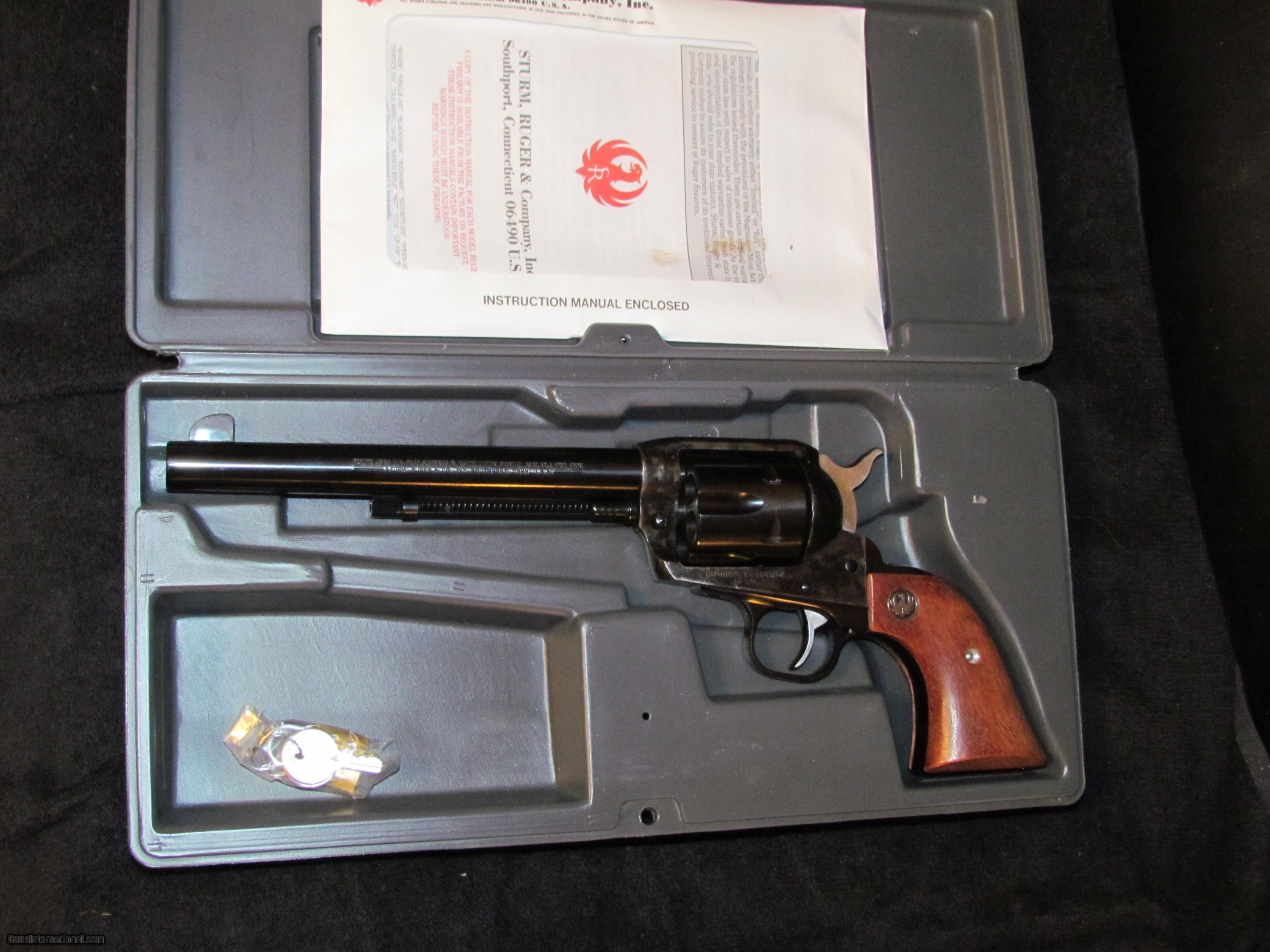 Ruger Old Style heavy frame Vaquero 45 colt new condition