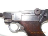 Luger P08 DWM double date 1914-1920 9mm pistol - 4 of 8