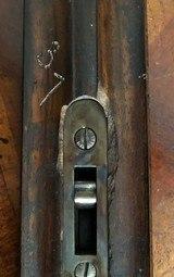 "Incredibly rare (1 of 2 made) Parker B Grade 12ga Hammer gun with 32"" Titanic Steel Barrels - 16 of 18"
