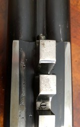 "Incredibly rare (1 of 2 made) Parker B Grade 12ga Hammer gun with 32"" Titanic Steel Barrels - 15 of 18"