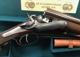 Superb and classy Stephen Grant Sidelever Hammer gun with case and accessories
