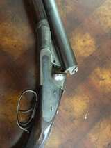 Very pretty steel barreled G Grade 16ga Lefever