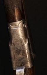 Very nice Parker CHE 12ga with unique original stock checkering - 5 of 15