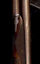 Beautiful high original condition Lefever Special Order 12 Bore with straight stock and special features - 4 of 10