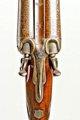 "Incredible High Original Condition Parker C Grade Hammer Gun with 32"" Bernard barrels - 4 of 19"