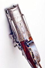 "Incredible High Original Condition Parker C Grade Hammer Gun with 32"" Bernard barrels - 5 of 19"