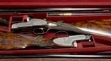 Lovely Lightweight True Pair of Antique Joseph Lang 12 Bore Game Guns - 2 of 17