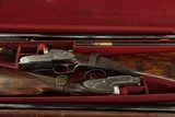 Lovely Lightweight True Pair of Antique Joseph Lang 12 Bore Game Guns - 3 of 17